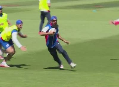 News video: England Cricket Team Play Rugby Before Facing Sri Lanka