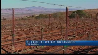 News video: California farmers to go another year without federal water