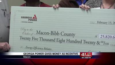 News video: Georgia Power Gives Money As Incentive